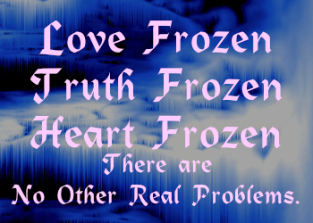 love truth heart frozen